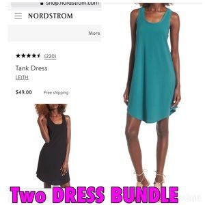 Nordstorm Leith Tank Dress Size XSmall
